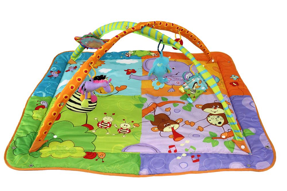 b b jouets jeu gymnase tapis de sol d velopper tapis pour enfants leobei dans tapis de jeux de. Black Bedroom Furniture Sets. Home Design Ideas