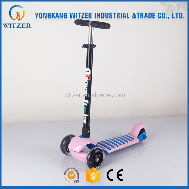 Professional Chinese Supplier Wholesale PU wheels Kids Scooter