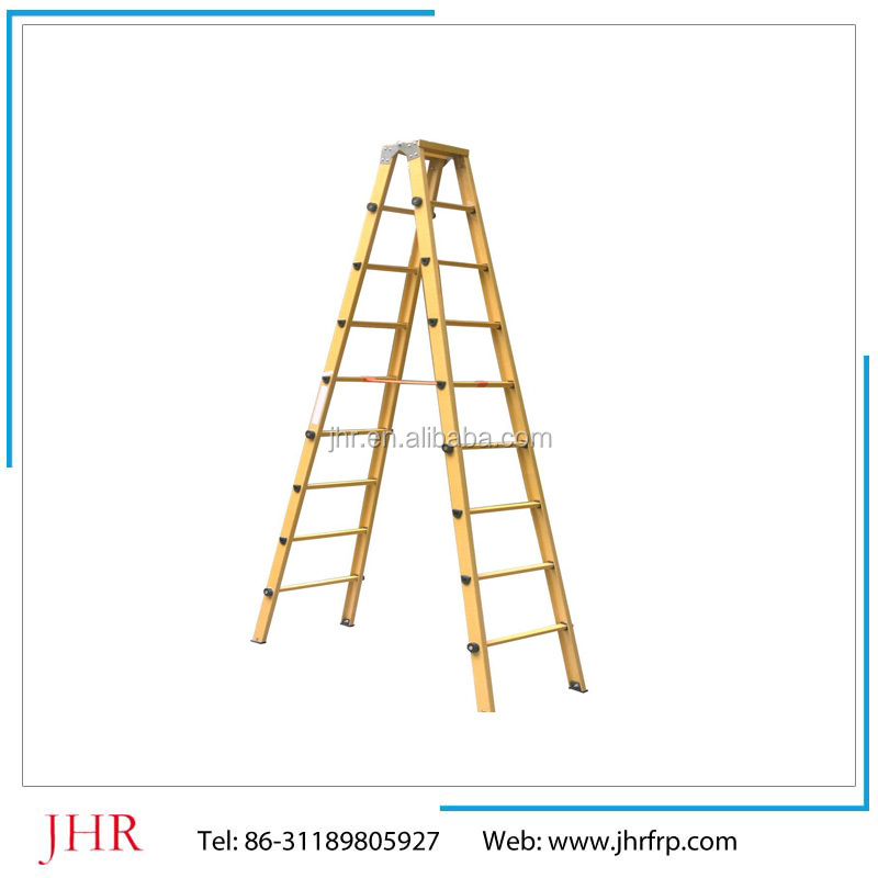 GRP FRP section profile for industrial ladder