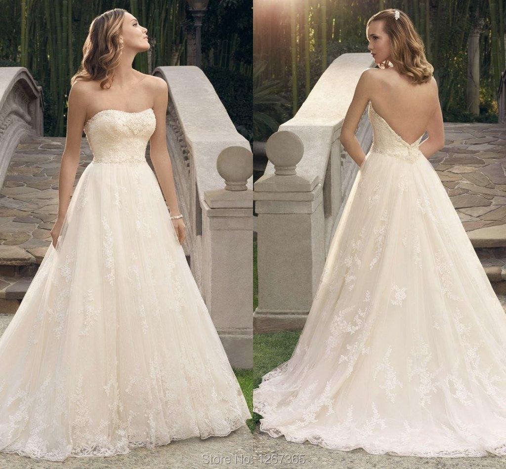 Wedding Ball Gowns 2014: 2014 Wedding Dress Casablanca Bridal Gowns Ball Gowns