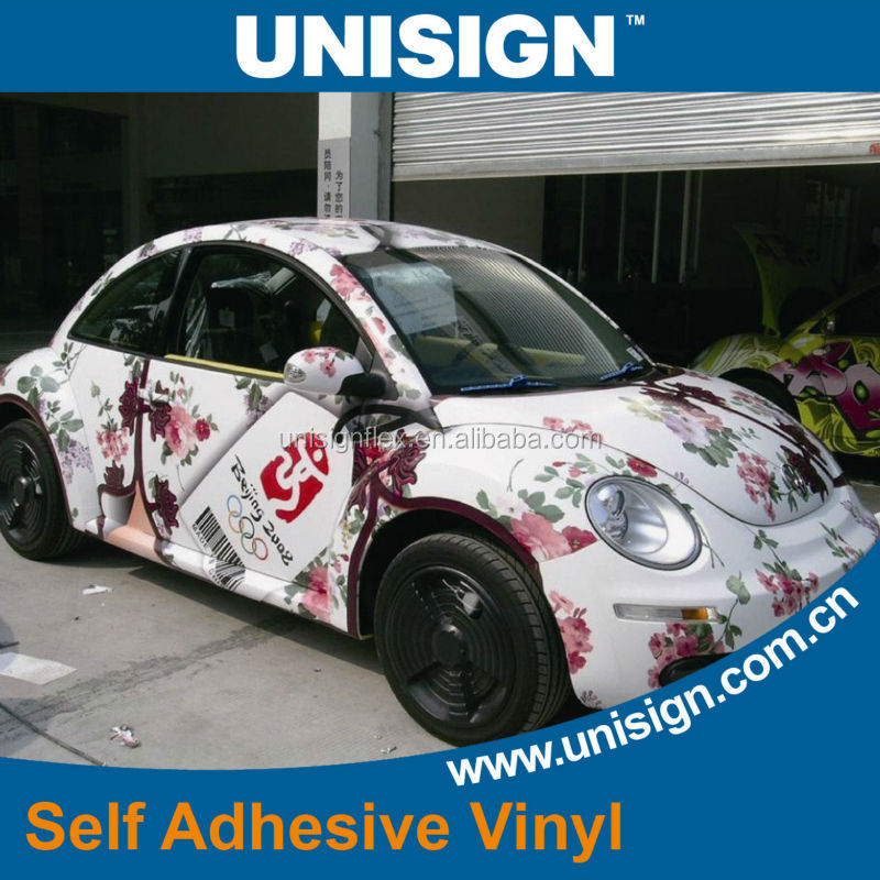 Self adhesive Vinyl White Glossy Matte, 80 and 100 microns