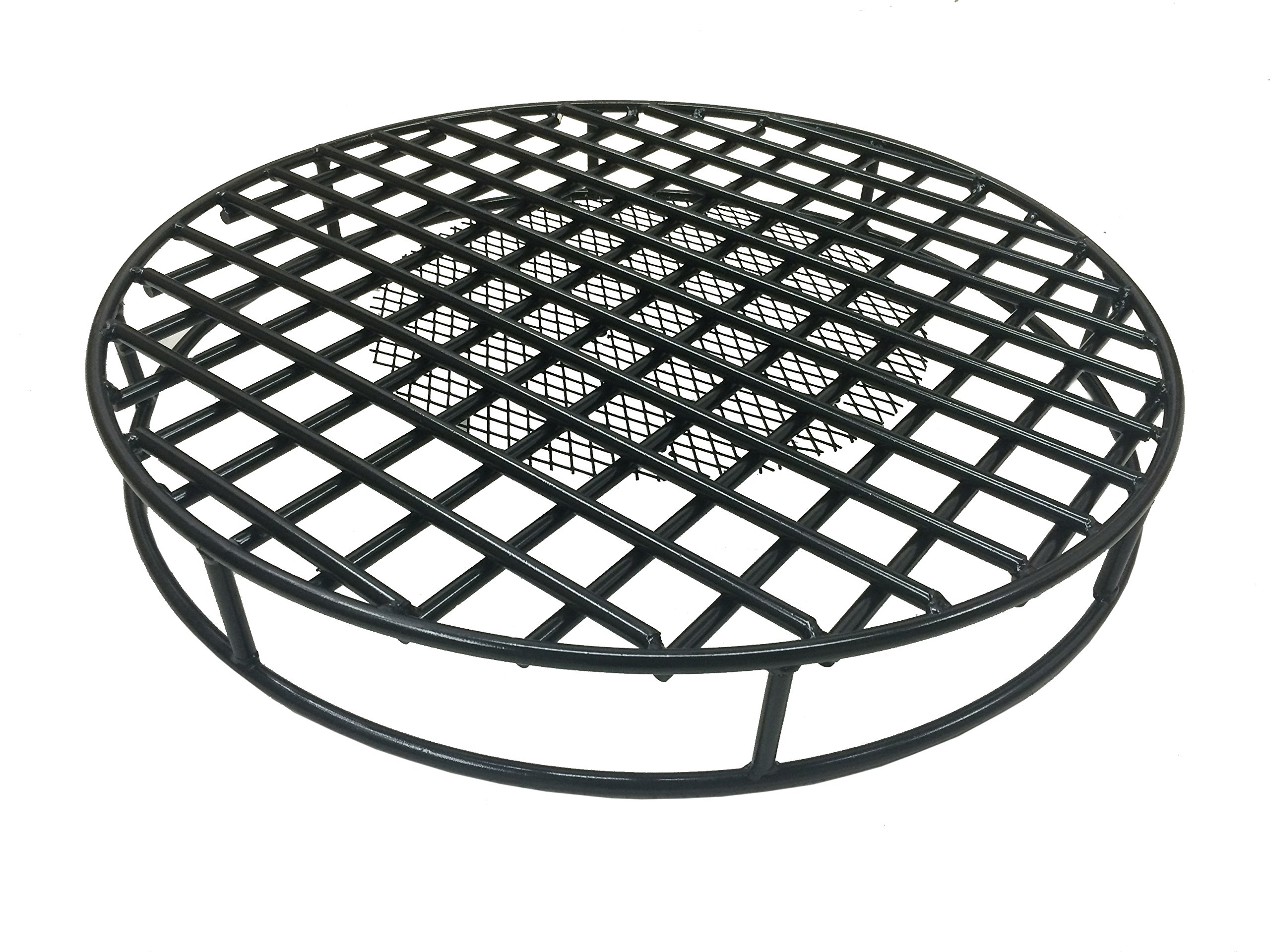 Get Quotations Walden Fire Pit Grate Round 29 5 Diameter Premium Heavy Duty Steel With Ember