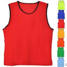 Football training vest custom soccer vest cheap soccer bibs wholesae gym wear men soccer vest