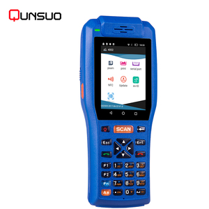 Rugged pda industrial handheld mobile computer android 2d handheld barcode scanner