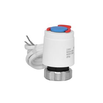Thermal actuator for floor heating water valve