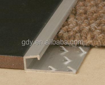 High Quality Carpet Edge Aluminium Profile Buy Carpet Edge Trim Aluminium Carpet Finishing Carpet Edge Profile Product On Alibaba Com