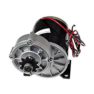 Alvey 36 Volt 600 Watt MY1020Z Gear Reduction Electric Motor with 10 Tooth #40 Chain Sprocket and Bracket