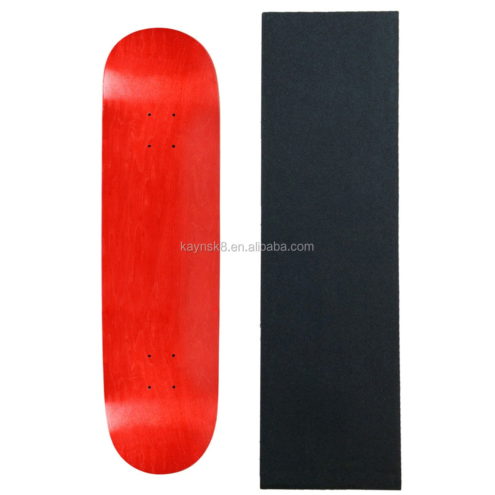 Pro grade 7ply Canadian maple skate decks in 8.25inch, customized printing skateboard decks made by leading factory