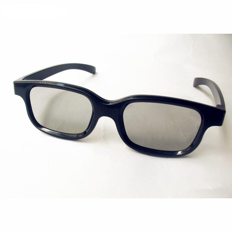 9b821049a1 Alta Calidad de Adultos Gafas 3D Pasivas Polarizadas Circulares para LG/toshiba/fpr  pasiva 3d tv y 3d de reald cinema vizio sistema