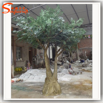 High Simulation Whole Artificial Olive Tree Decorative Plants Trees For Indoor Decor