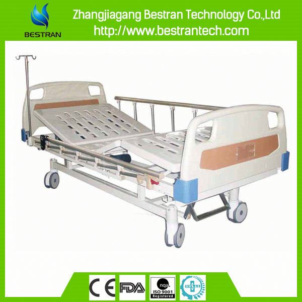 China BT-AE201 two function electric hospital bed, hand controls for hospital bed