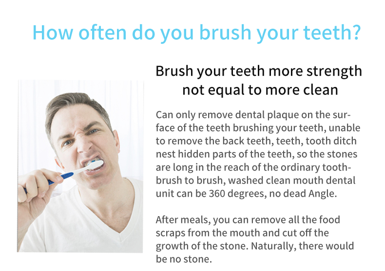 Beauty Care Anti-Leakage Patent Design Munddusche zur Mundpflege