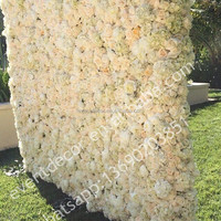 wholesale flower wall for wedding &home decorations/decorative flower wall