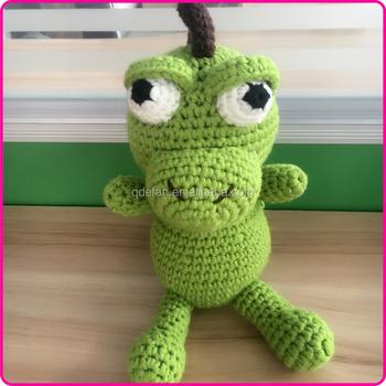 Cute Handmade Knitted Stuffed Toys Crochet Baby Stuffed Toys Funny