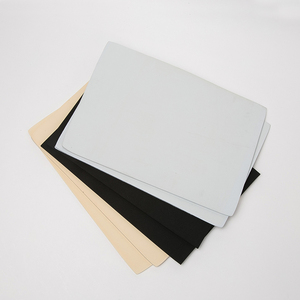 White 1mm Customized neoprene epdm sbr cr foam sponge rubber sheet