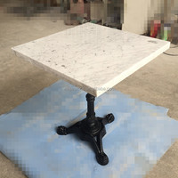Hot Sale White carrara Marble Restaurant Table