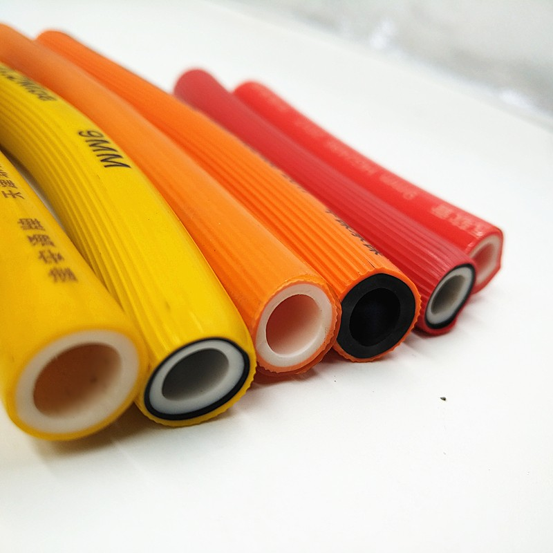 high quality lpg gas hose pipe pvc 3/8 plastic pipe for gas stove