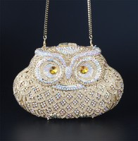 Clutch Style and zinc alloy Material Animal shape clutch bag