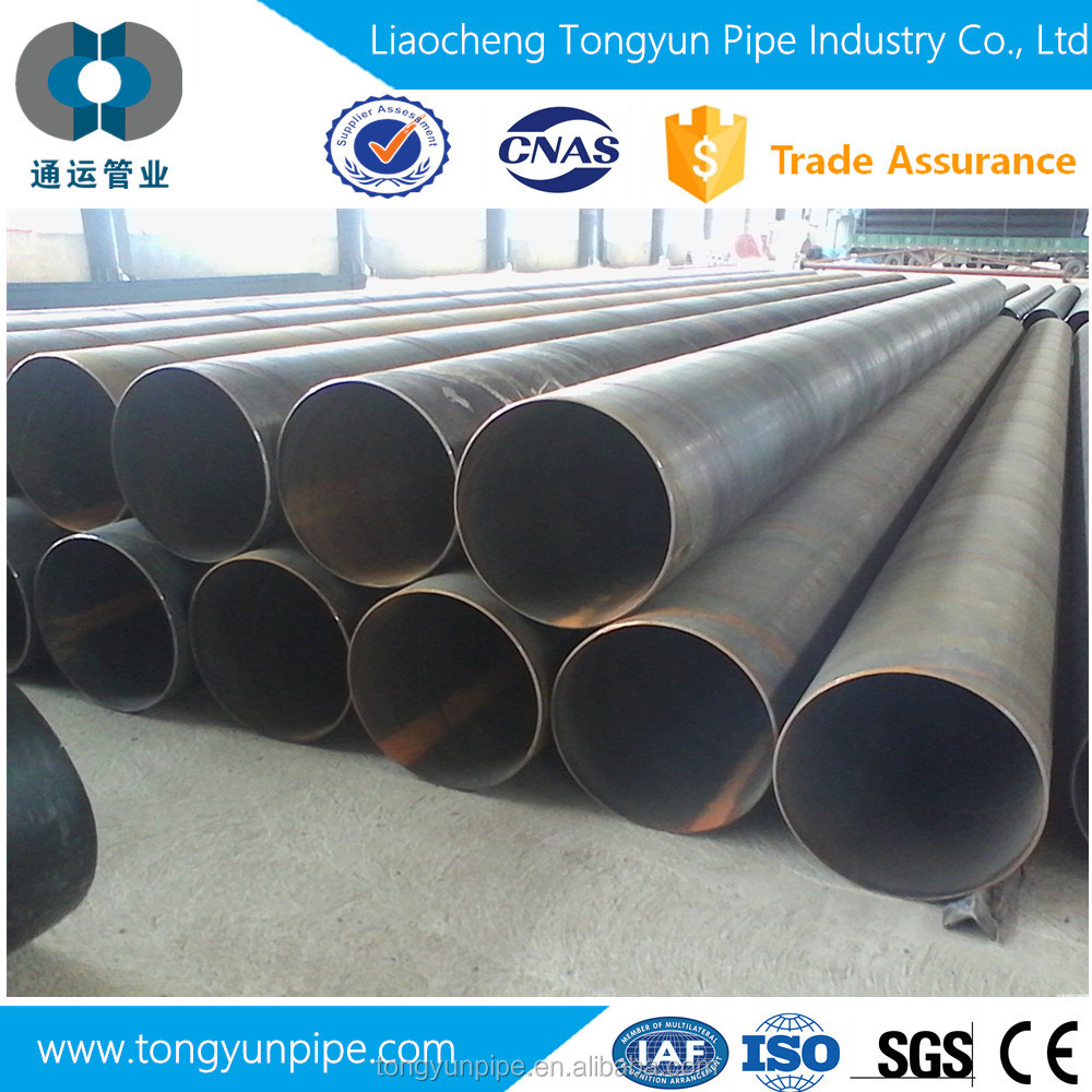 Black round/square/oval/rectangular steel tube and pipe3444 En10219 En10255