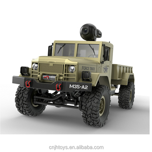 JH TOYS Newest Toy 4WD M35-A2 Military Army RC Truck with Camera