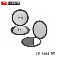 Double Sides 10X Magnifying Custom Compact Pocket Mirror