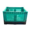1200x1000x810mm agricultural mesh pallet with lid for fruits