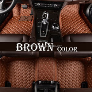 High quality luxury unique car mats 3D full set car mats for all car model with good price