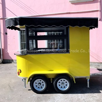 small food ice cream truck van cart for sale india or philippines