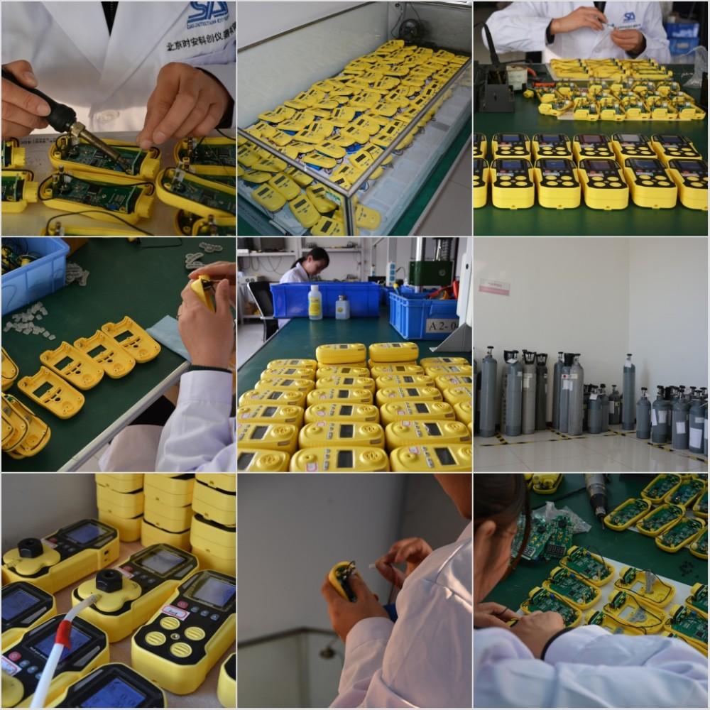Biaya Yang Efektif Co H2S Monitor Industri Beracun Hidrogen Sulfida H2S Detektor Gas H2S