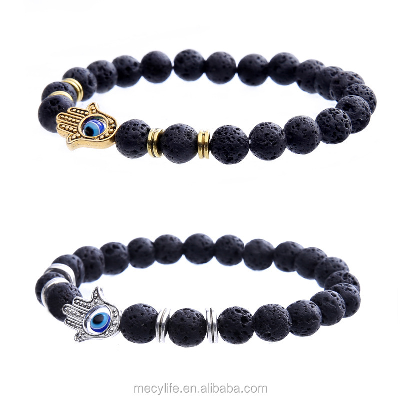 ke string lava bracelets stretch head man stone volcano en natural gold product from rhinestone kenya black kilimall matte price leopard bracelet no