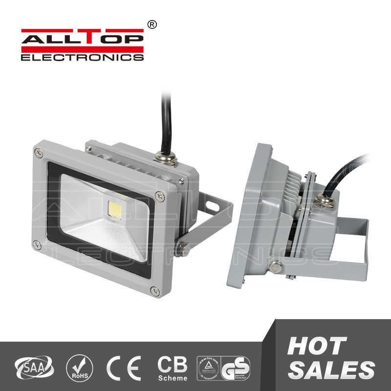 High quality outdoor ip65 12v 10w rechargeable led <strong>flood</strong> lights