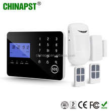 2018 Best China Factory Wireless LCD Display GSM/PSTN Home Intruder Alert Alarm gsm sms generator controller PST-PG994CQT
