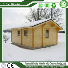 Comfortable simply equipped wood tiny house free design for sale