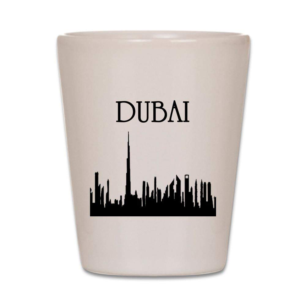 CafePress - Dubai Shot Glass - Shot Glass, Unique and Funny Shot Glass