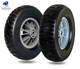 10 inch semi pneumatic rubber tyre