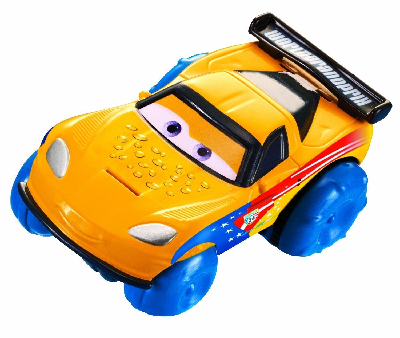 Disney/Pixar Cars, Hydro Wheels, Jeff Gorvette Bath Vehicle