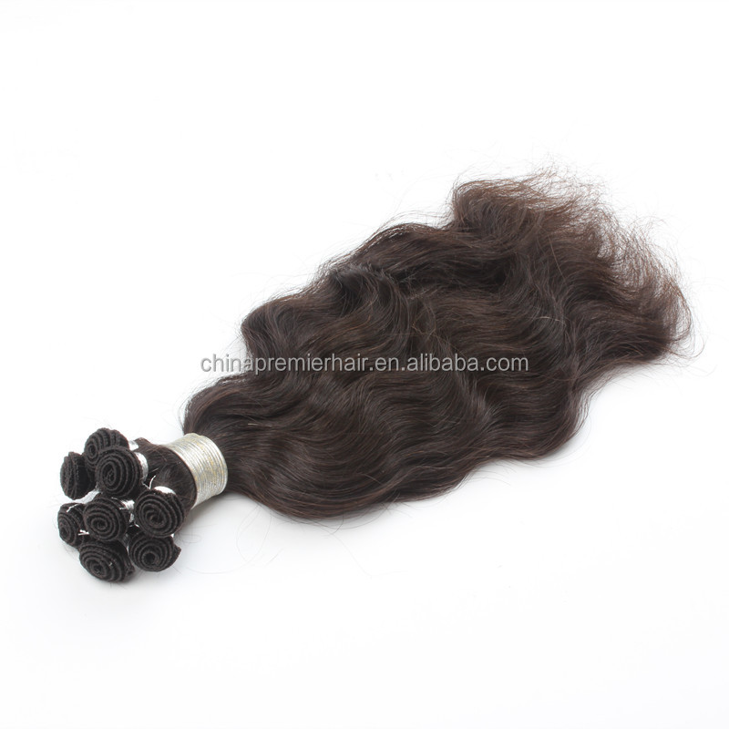 Natural Wave 100% Virgin Brazilian Hair hand tied weft hair extension
