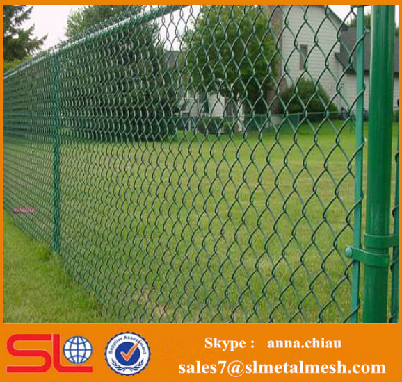 Metal Pole for Fencing Galvanized Chain Link Fence Poles
