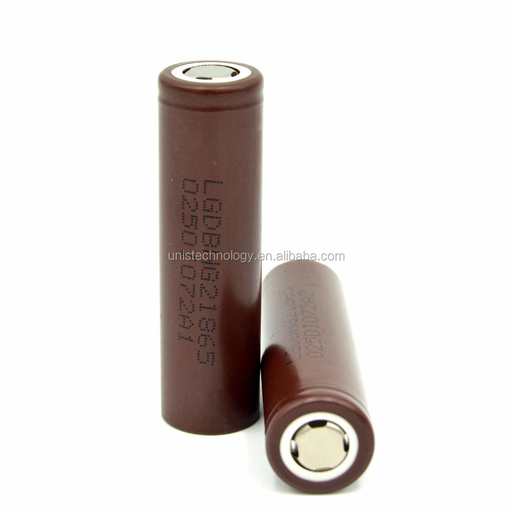 In Stock ! Authentic LG 18650 HG2 3000mAh 20A rechargeable battery 18650 lg hg2 20A discahrge use for power tools