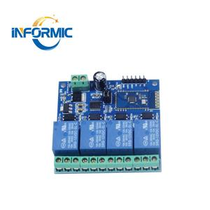 12V 5V 4 channel Bluetooth relay module for APP remote control switch