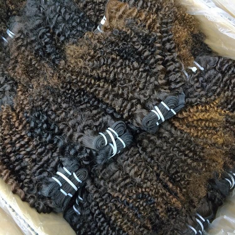LetsFly Wholesale 10pcs 420g Kinky Curly Original Raw Real Natural Brazilian Human Hair Unprocessed Virgin Hair weave фото