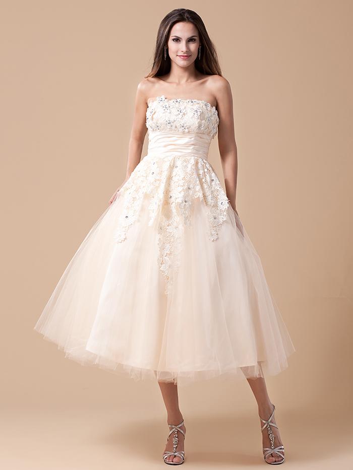 Where to buy tea length dresses