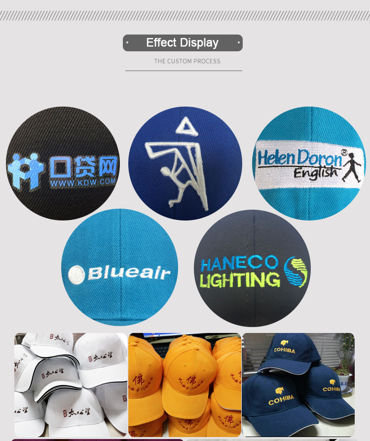 Factory customized logo pattern dad hats custom embroidery