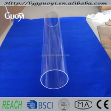 High density tempered glass tube from chinese factory