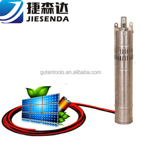 high quality solar fuel pump stainless steel submersible deep well pump/borehole pump made in China