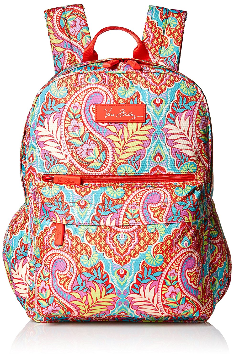 Vera Bradley Lighten Up Just Right Backpack Paisley In Paradise One Size