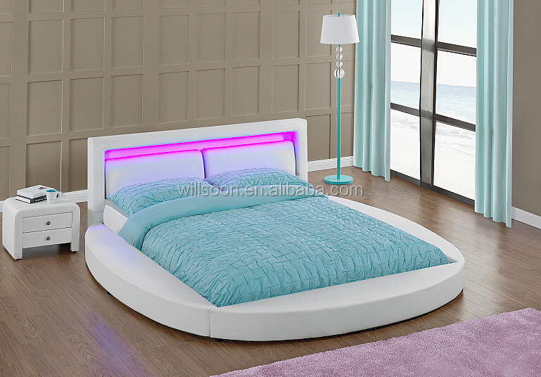 4 Colour Remote Control Led Round Shaped Bed On Sale Buy Bed Round