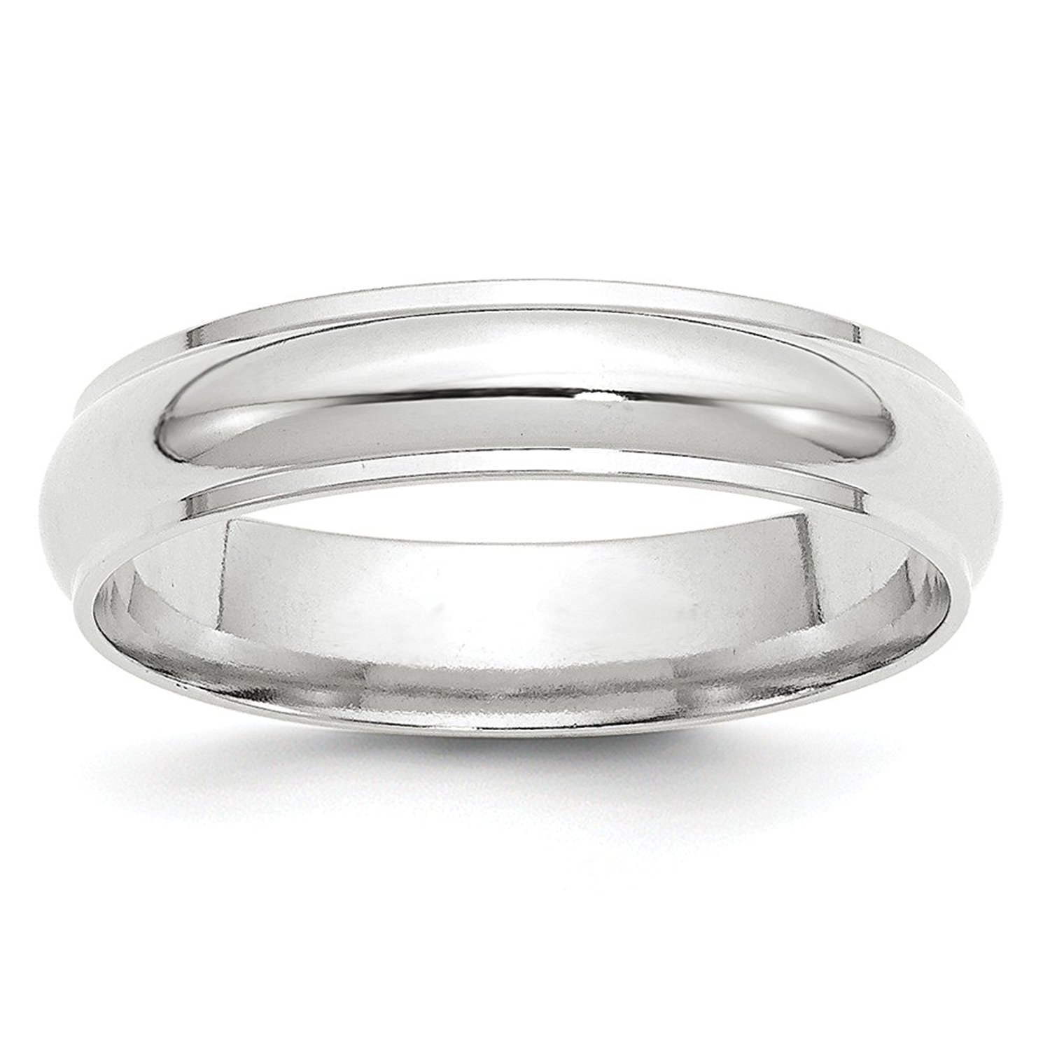 Perfect Jewelry Gift 10KW 5mm Standard Flat Comfort Fit Band Size 14