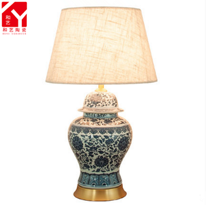 Antique Hotel Decorative Desk lamp Ceramic Table Lamps