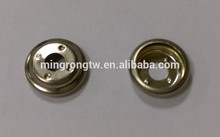 Male Garment Use Metal Ring Snap Button